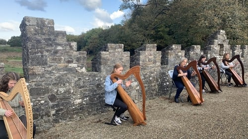 The event coincides with the 350th anniversary of the birth of the famous harperTurlough O'Carolan