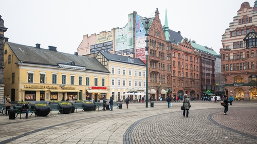 The statues disappeared in the city of Malmo