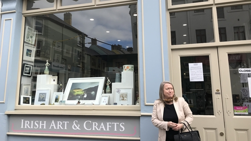 Frances Spears fears many people will now shop over the border in Northern Ireland