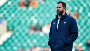 Andy Farrell has been in charge of 8 games so far