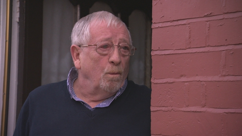 Tom McArdle discussing new restrictions from his home in Dublin