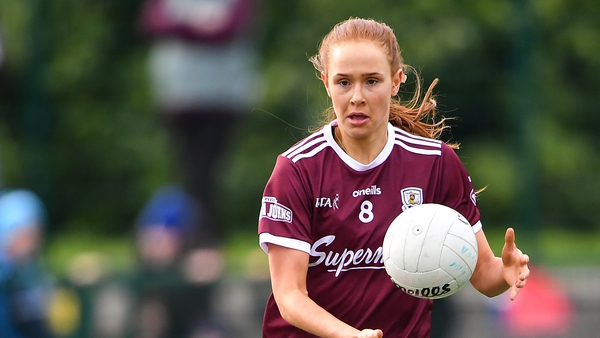 Olivia Divilly during the Lidl Ladies National Football League in February