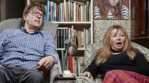 Gogglebox stars Giles and Mary