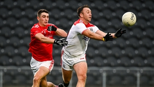 Paul Kerrigan had a hand in some of Cork's goals against Louth, and got in on the act too