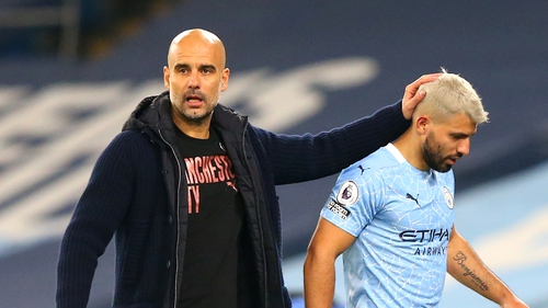 Sergio Aguero is out of contract this summer