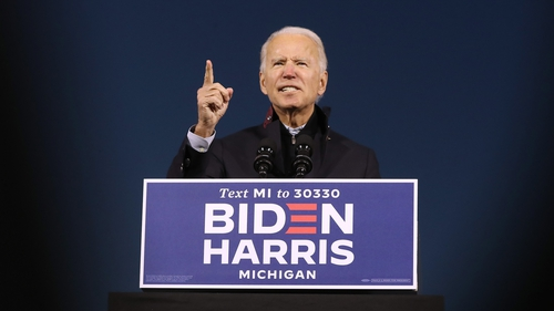 The Biden campaign has held a number of virtual rallies for Irish-Americans in recent weeks
