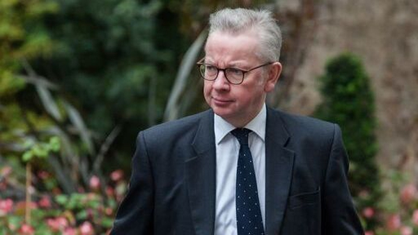 Michael Gove said the EU has 'not been willing to produce the detailed legal text'