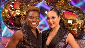 Nicola Adams and Katya Jones