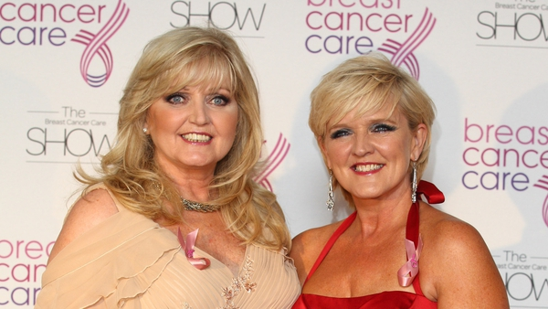 Linda and Bernie Nolan pictured together in 2011