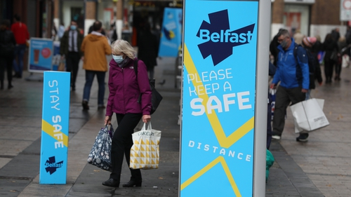Unions and businesses in Northern Ireland are calling for more financial support amid tighter restrictions