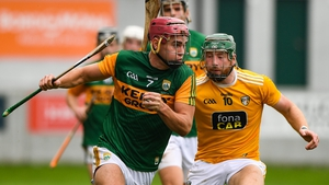 Kerry will be looking to beat Antrim having lost this year's Division 2A final to the Saffrons by three points