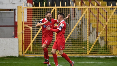 Gary Deegan blasted home the only goal of an entertaining game