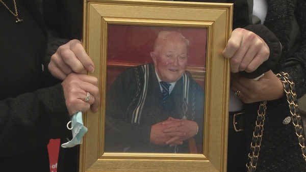 Patrick Dillon was 92 but was, his family said, a fit and healthy father, grandfather and great grandfather
