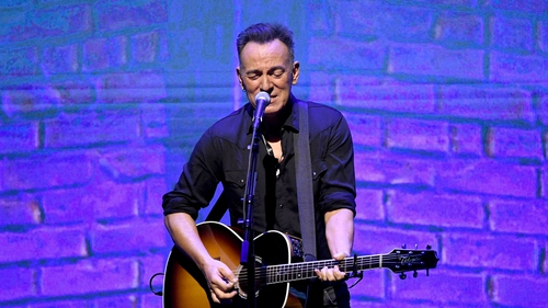 """Bruce Springsteen: """"It's very painful to not be able to go out and play right now, because this is material that'll play incredible on stage."""""""