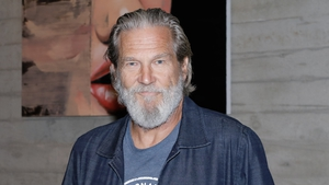 """Jeff Bridges (pictured in October 2019) - """"I'm starting treatment and will keep you posted on my recovery"""""""