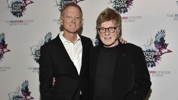 James and Robert Redford, pictured in San Francisco in December 2018