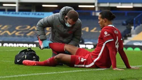 Virgil van Dijk has yet to go under the knife to repair his anterior cruciate ligament