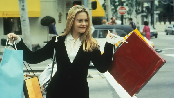 It took Alicia Silverstone a while to settle on the yellow plaid suit.