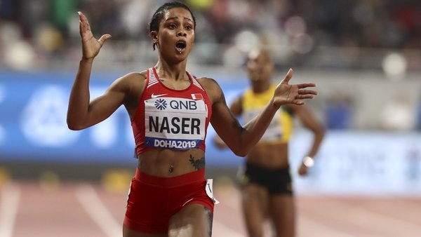 Nigerian-born Bahraini athlete Salwa Eid Naser is the youngest woman to win the 400m title at the World Championships