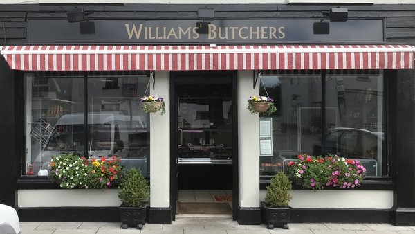 Williams' Butchers on the main street in Abbeyleix, Co. Laois
