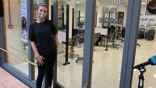 Anna-Marie Bardon of Anna-Marie's Hair and Beauty Salon said 'the unthinkable is happening again'