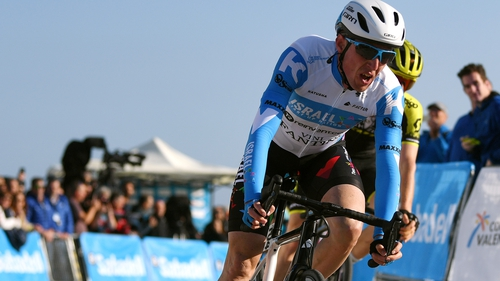 Dan Martin was third in the opening stage of the Vuelta