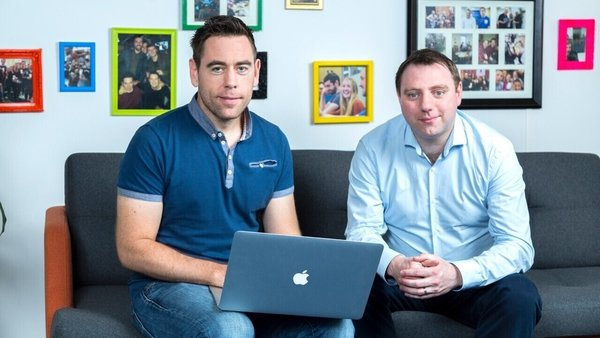 LearnUpon was founded in Dublin eight years ago by Brendan Noud and Des Anderson