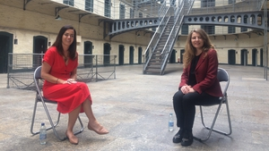 Sarah Anne Buckley with Ciara Breathneach in 74 Days: The Hunger Strike of Terence MacSwiney