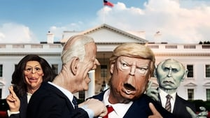 Harris, Biden, Trump, and Pence get the Spitting Image treatment
