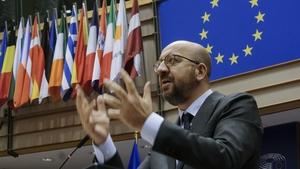 Charles Michel said the EU 'will not use vaccines for propaganda purposes'