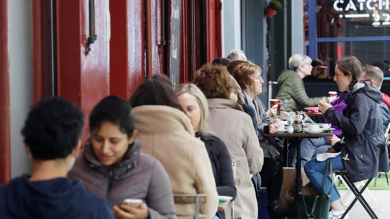 Restaurants, cafes and some pubs reopening