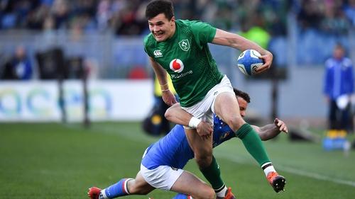 Jacob Stockdale moves to full-back