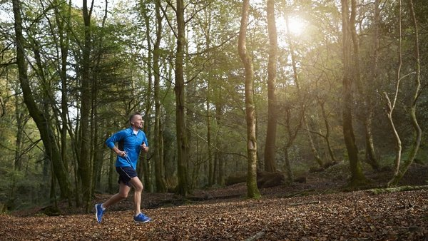 A study has found that only one in four men aged between 45 and 54 meet the World Health Organization's recommended 150 minutes of exercise per week