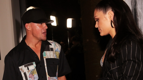 Channing Tatum and Jessie J, pictured at a Grammy Awards after party in Hollywood in January