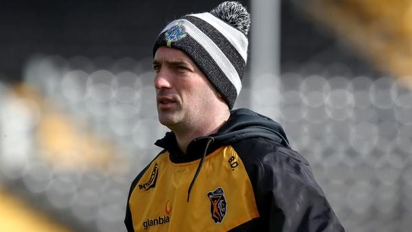 Kilkenny manager Brian Dowling