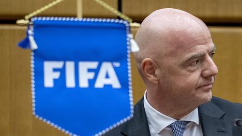 Gianni Infantino, president of FIFA