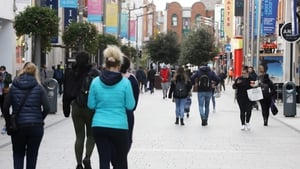 Retail sales in October fell on a monthly basis for the first time since April as Covid-19 curbs were tightened (Photo: RollingNews.ie)