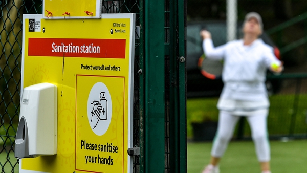 Tennis clubs have been ordered to close