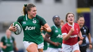 Dorothy Wall during the win over Wales in February