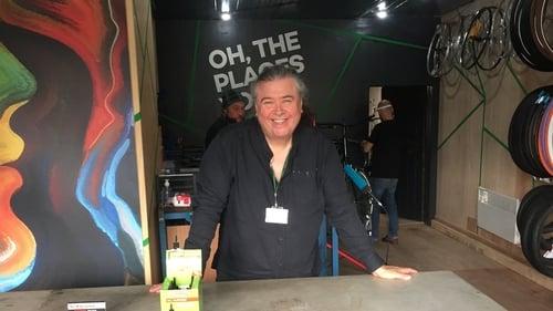 Stuart Fraser, the CEO of Frontline Make Change at Frontline Bikes in Inchicore