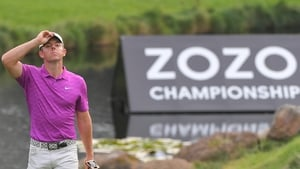 It was a challenging day for Rory McIlroy