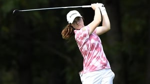 Leona Maguire is two-over-par
