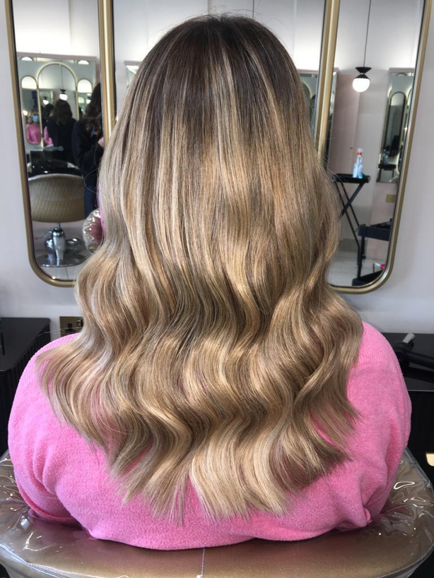 First set of tape extensions