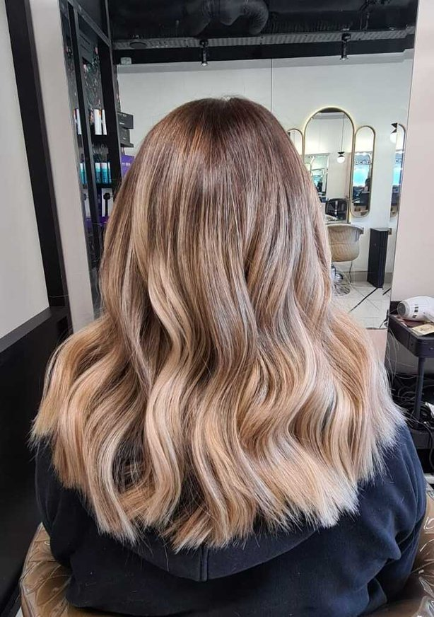 hair after retape