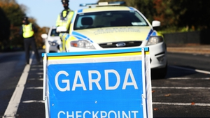 Gardaí said the checkpoints would be on national routes and not motorways