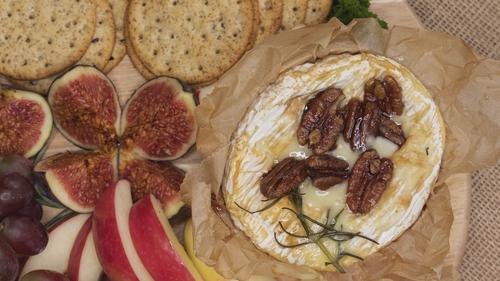 Lilly Higgins' baked camembert