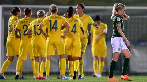 Ukraine edged past the Republic of Ireland thanks to a fortuitous victory in Kyiv against Vera Pauw's side
