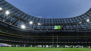Ireland v Italy kicks off at 3.30pm