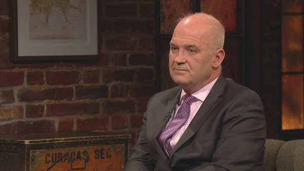 Tony Holohan on the Late Late - he 'did not anticipate' giving advice that schools should not reopen after mid-term