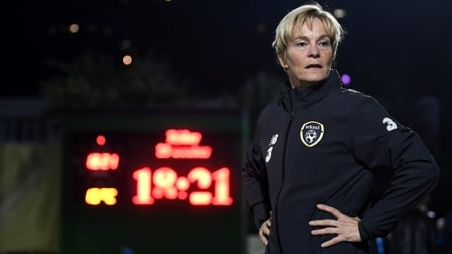 Vera Pauw feels that her team are still improving despite missing out on Euros qualification